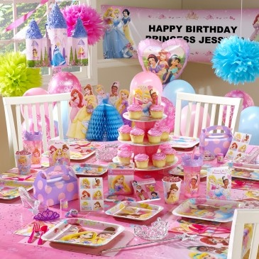 Disney Fanciful Princess Ultimate Party Pack For 8