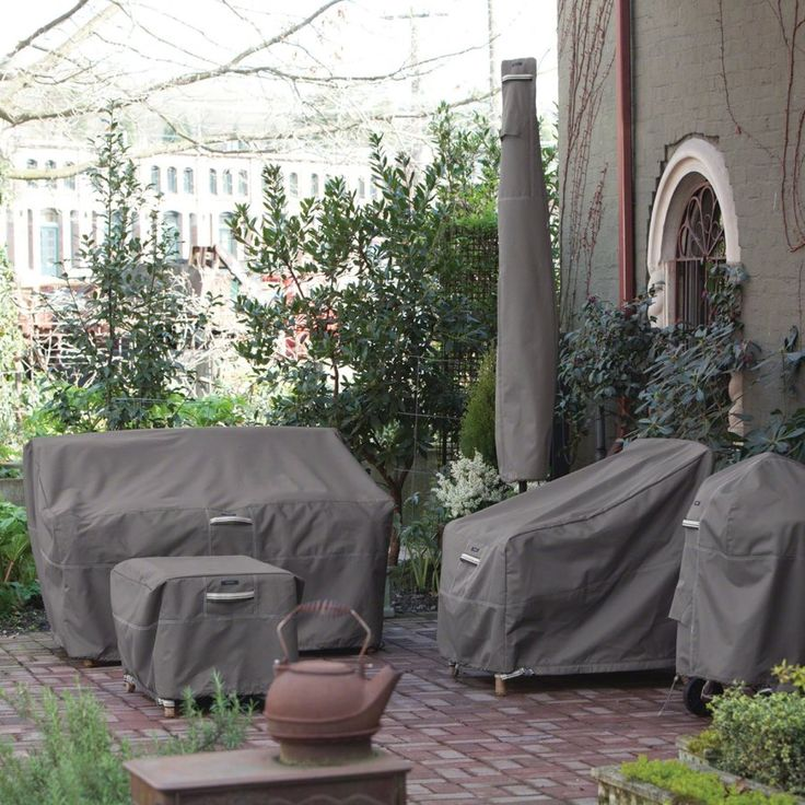 Charming Patio Furniture Covers For Protecting Your Outdoor Space Pictures