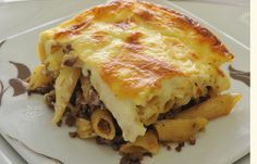 Macarona Bechamel - Egypt's answer to Lasagna... delicious!