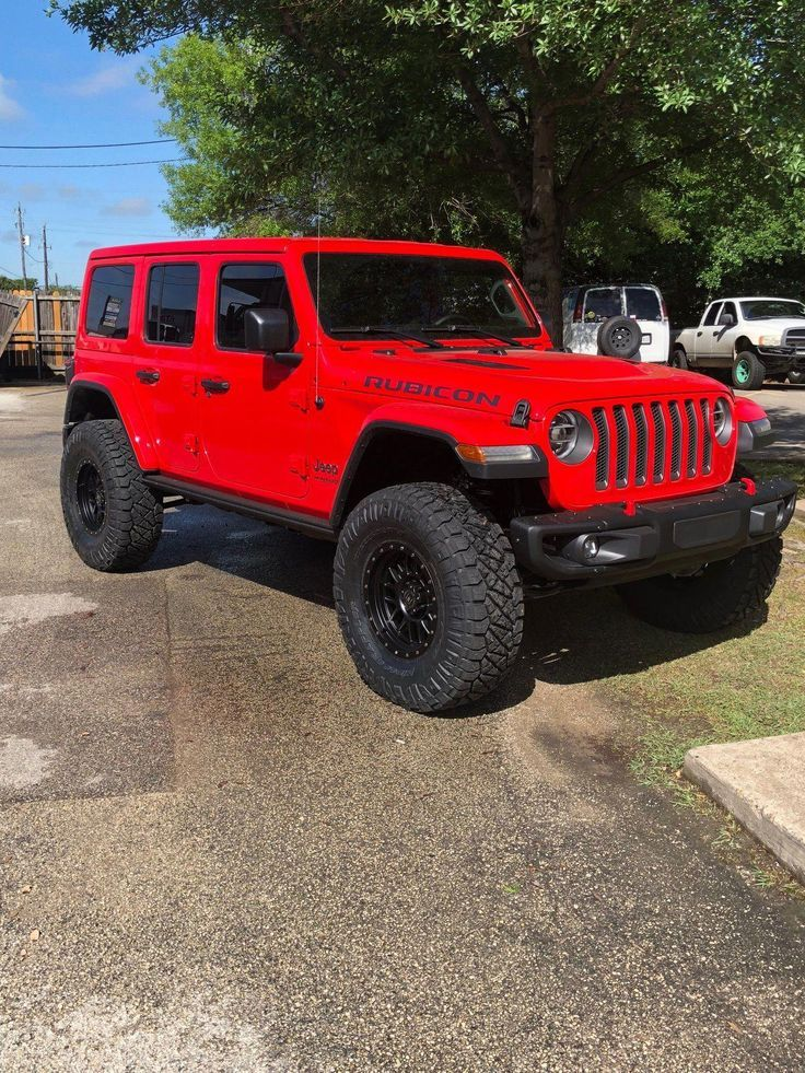 Red Lifted Jeep Wranglers Jeeps In 2020 Jeep Wrangler Lifted Lifted Jeep Jeep Wrangler Forum
