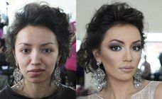 Vadim Andreev, un #makeup artist russo, è particolarmente bravo a cambiare radicalmente le sue modelle... #beauty