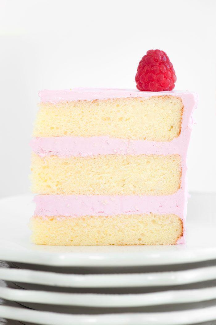 Lemon Cake with Raspberry Meringue | Sprinkles for Breakfast