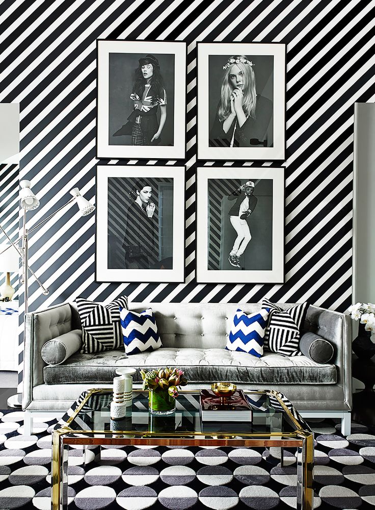 18 Stunning Spaces Where Pattern Rules | MyDomaine.com