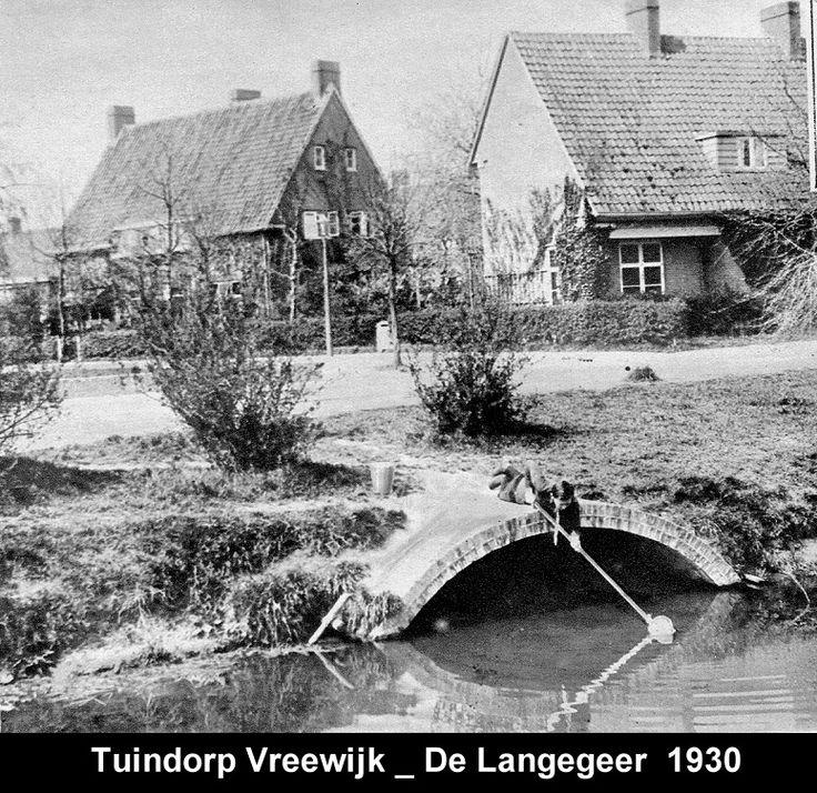 De Langegeer, Tuindorp Vreewijk 1930