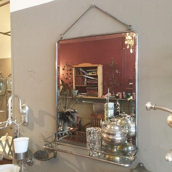spiegel brede facet rand 90x58 - Affaire d'eau