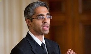 Surgeon general Vivek Murthy said Saturday that the backlash from his gun control statement was disappointing but not a surprise. He was confirmed in December in the face of opposition from the National Rifle Association, in a rare defeat for the powerful gun lobby.