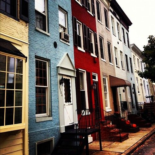 78 Best Images About Row Houses On Pinterest