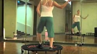 Tracy Anderson Rebounder Workout 30 mins