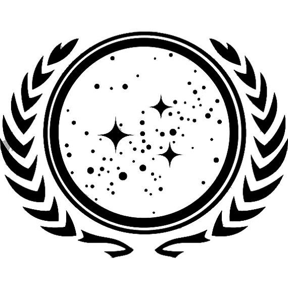 Star Trek - United Federation of Planets - Vinyl Decal