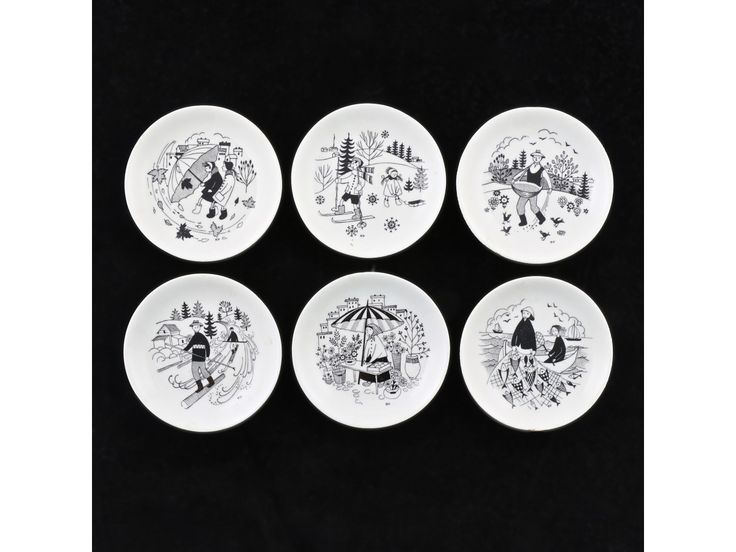 Uosikkinen Raija - Arabia - Plates for children