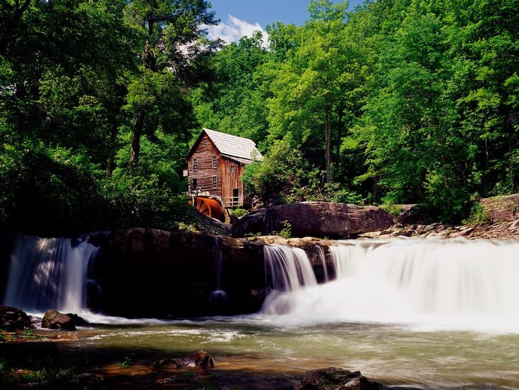 Glade Creek Grist Mill, Babcock State Park, Clifftop, West Virginia