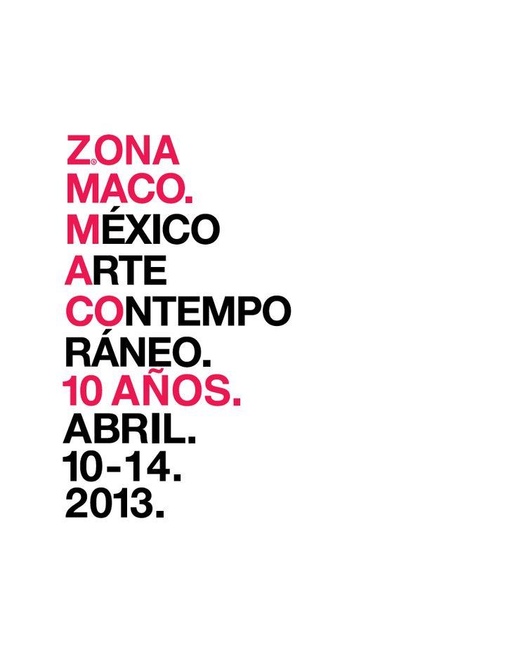 Zona MACO 2013: 10 años
