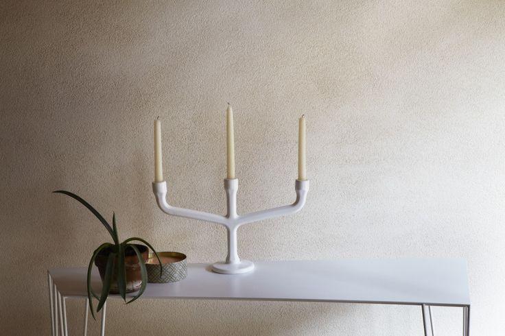 Decospot | Candlesticks & Lanterns | Atipico Esag Candlestick. Available at decospot.be webshop.