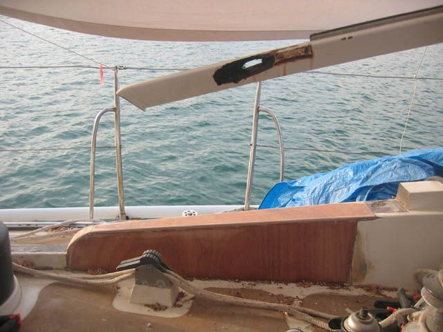 how to stop dry rot in boats