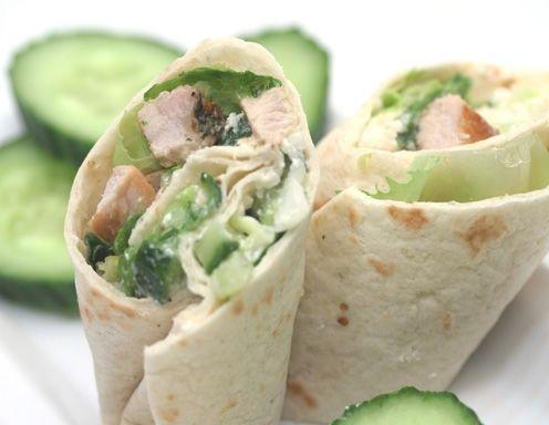 Pork Wraps mit Gurkenrelish - Rezept  - ichkoche.at