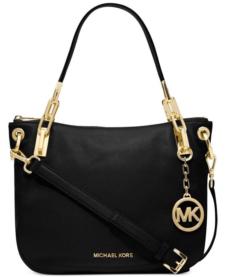 Michael Kors Handbag Brooke Medium Shoulder Tote in Black