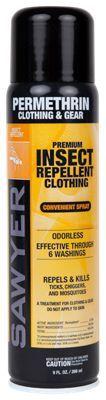 Sawyer Permethrin Premium Insect Repellent Aerosol Spray for Clothing