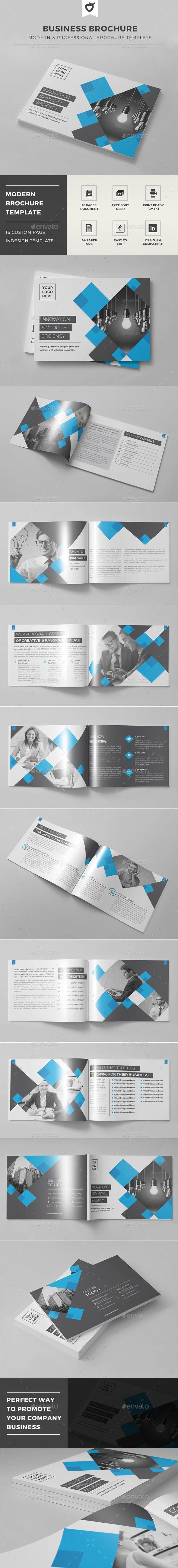 Business Brochure Template #design #broschüre Download: http://graphicriver.net/item/business-brochure-template/12371987?ref=ksioks