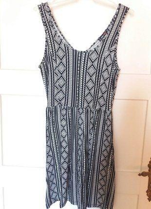 Kup mój przedmiot na #vintedpl http://www.vinted.pl/damska-odziez/krotkie-sukienki/18650931-letnia-sukienka-w-azteckie-wzory