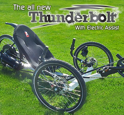 49 best images about awesome laidback trikes bikes on for Recumbent bike with electric motor