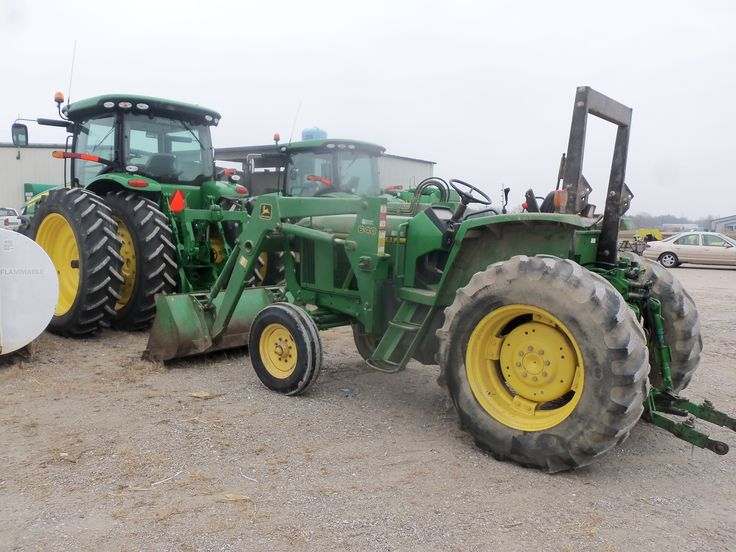 John Deere 6200 with 640 loader