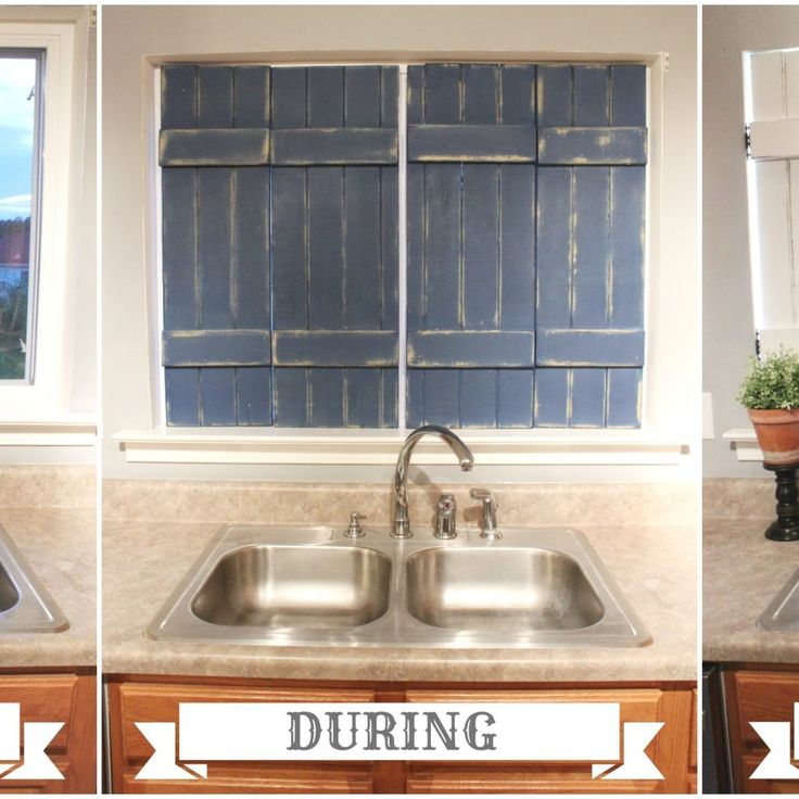 Interior Shutters For Kitchen Windows