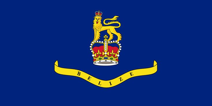 The Flag of the Governor-General of Belize
