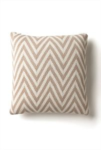 Knitted Zig Zag Cushion for the home #witcherywishlist