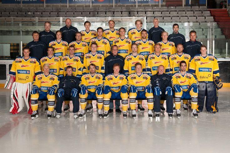 Storhamar Dragons team 2012/13