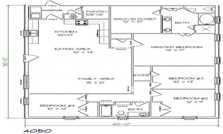 253 best barndominium plans images on pinterest pole for 30x50 shop plans