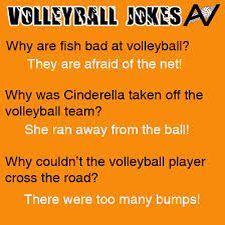 Funny volleyball jokes!