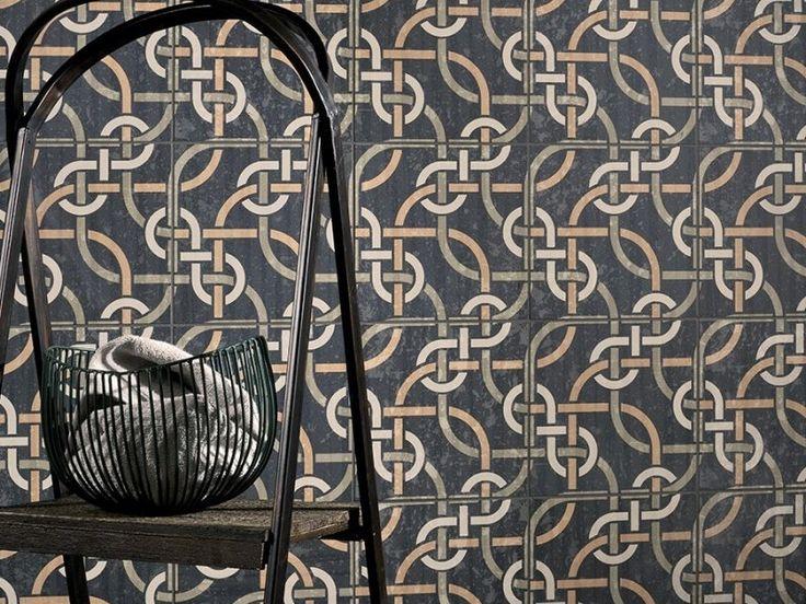 Kierkels - Tegels en Vloeren - decor kleur spaghetti 20x20 cm