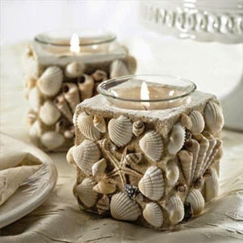 Diy candle holders ideas www.craftymanoula.blogspot.com