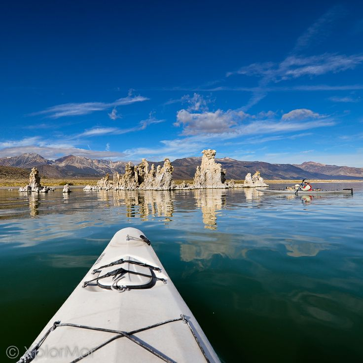 XplorMor Kayak Expedition, Mono Lake, California