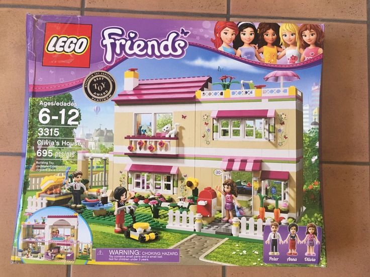 LEGO 3315 Friends Olivias House  Retired  NEW Free Shipping
