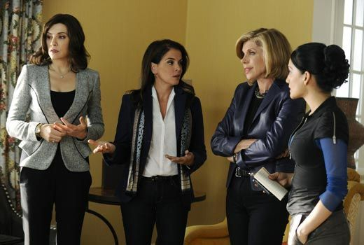 "Annabella Sciorra guest stars as Lemond Bishop's lawyer from his ""other"" law firm, on ""The Good Wife"" Sunday, Oct. 28."