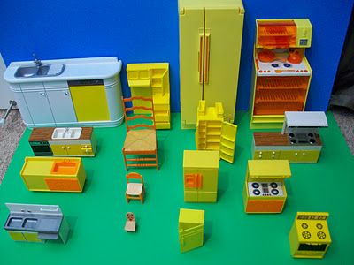 Serious Yellow Kitchen Obsession Across Many Scales