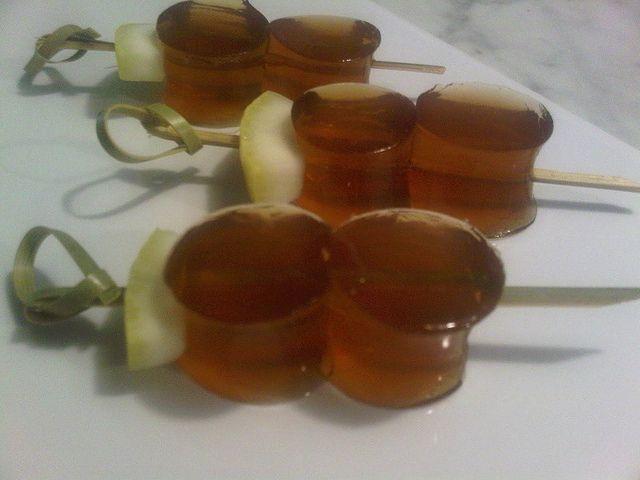 Long Island Iced Tea Jelly Shots