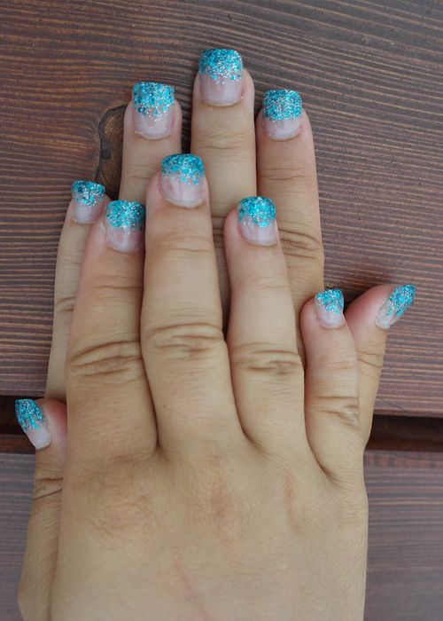 Decorate Your Nails with These Texture on Tip