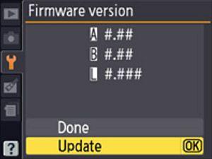 Latest Nikon Firmware Updates