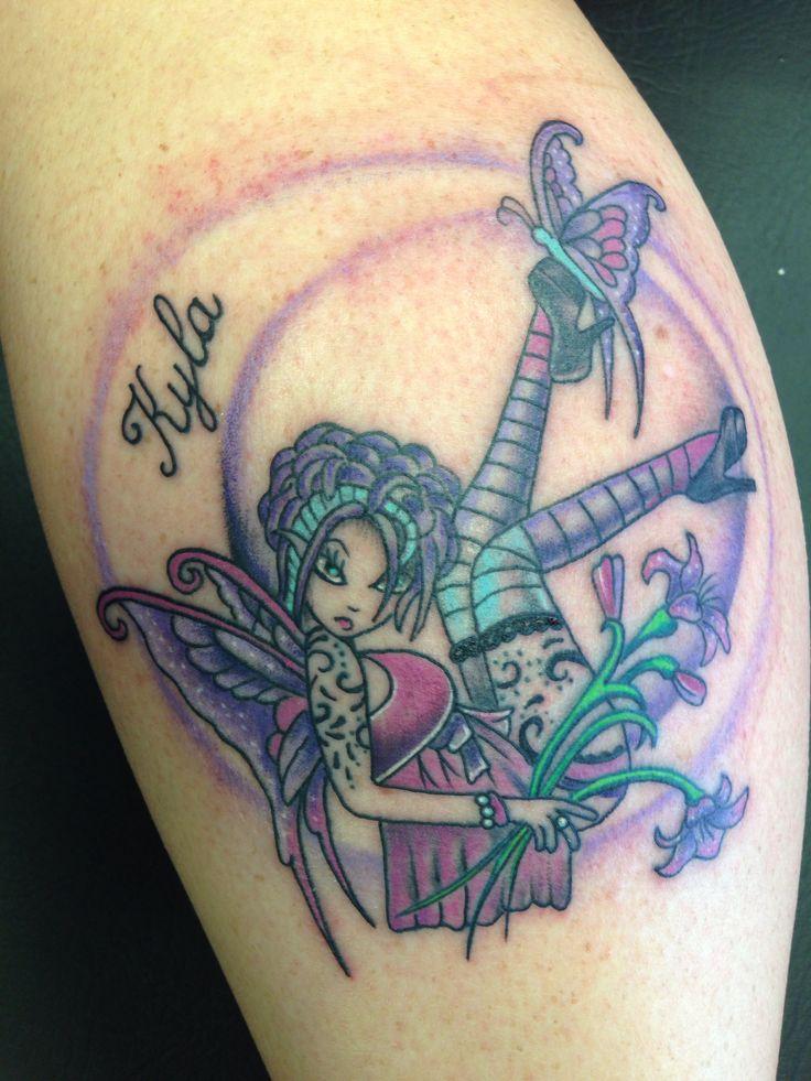 254 best mj 39 s fairy pix tatts images on pinterest for Skull fairy tattoos