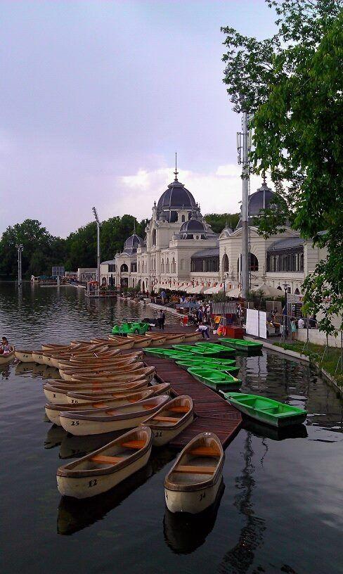 City Park (Városliget), Budapest, Hungary