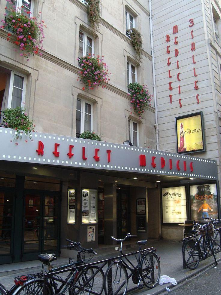 Paris 5e - Le Reflet-Médicis, rue Champollion