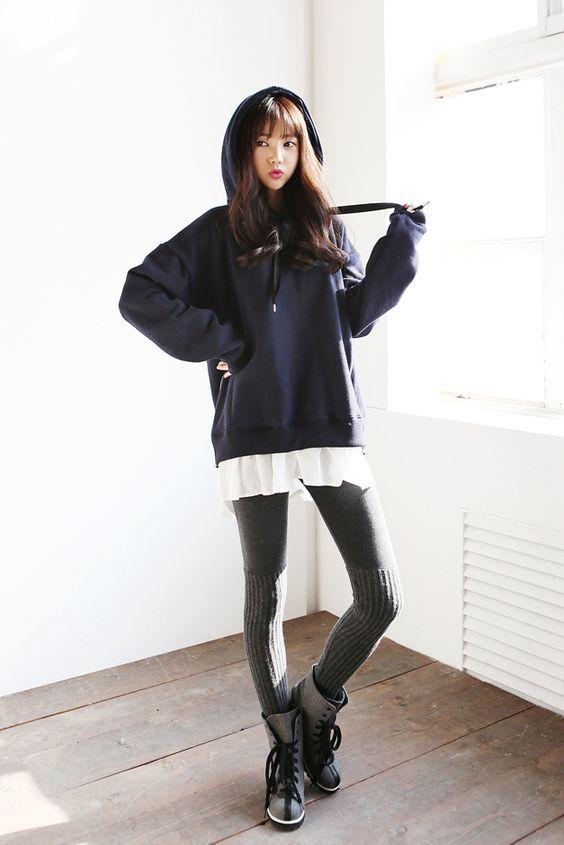 10 stilvolle & trendige koreanische Mode Outfits für Frauen 2018