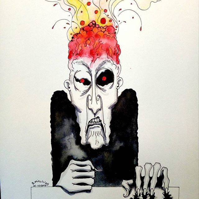 Inktober day 21 -Furious- #inktober #inktober2017 #inktoberday21 #inktoberprompts #ink #penandink #brushandink #brushpen #copic #bmitchleyart #koibrushpen #furious #character #comic #southafricanartist #southafrican #southafrica #artist #artistoninstagram #art #illustration #dailysketch #drawingink