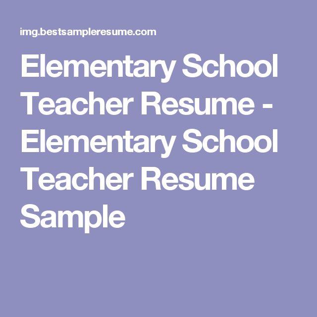 teacher resume samples amp writing guide resume genius