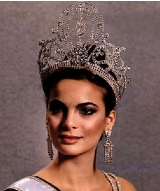 Miss universo 1979 de Venezuela Maritza Sayalero