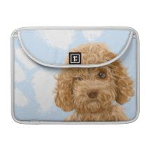 Labradoodle Dog Print Macbook Sleeve MacBook Pro Sleeve