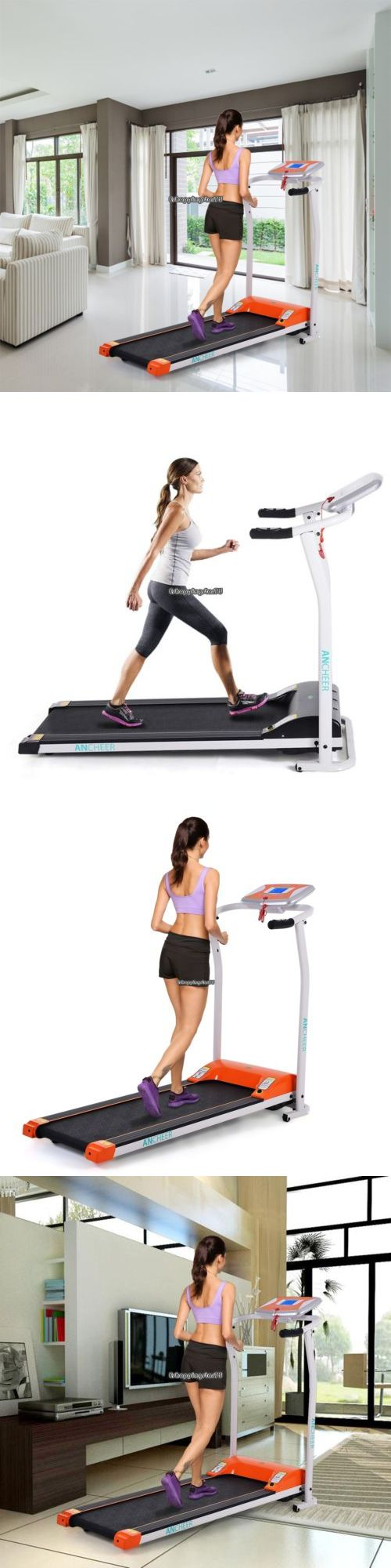Treadmills 15280: Foldable Treadmill Running Machine Exercise Gym Equipment Eh7e -> BUY IT NOW ONLY: $210 on eBay!