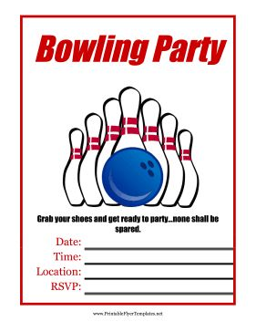 15 best bowling images on pinterest free printable free for Bowling certificates template free